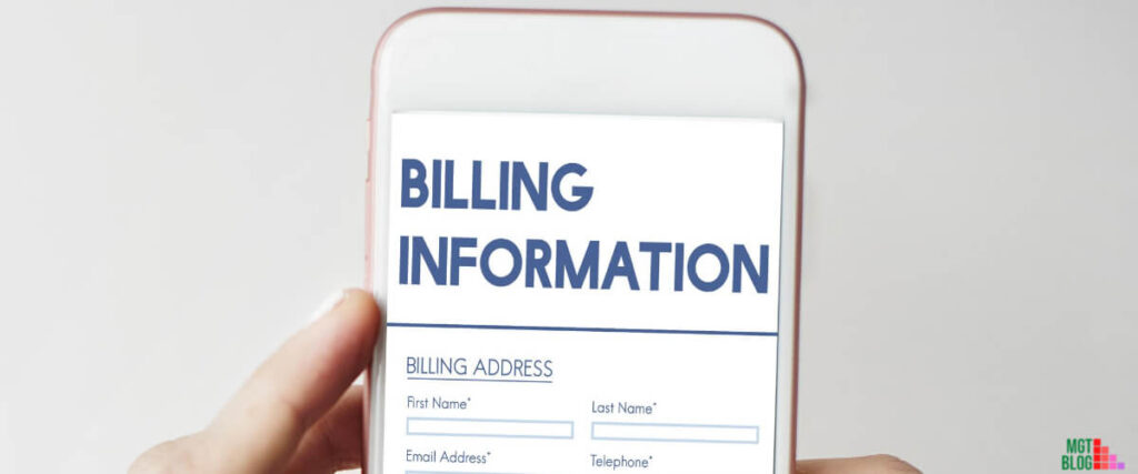 Billing Address Name Have To Match Credit Card